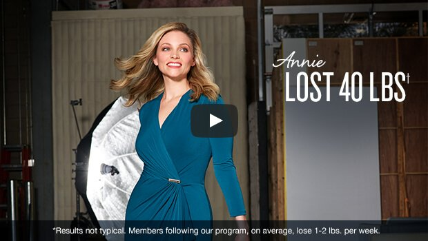 Annie lost 40 lbs