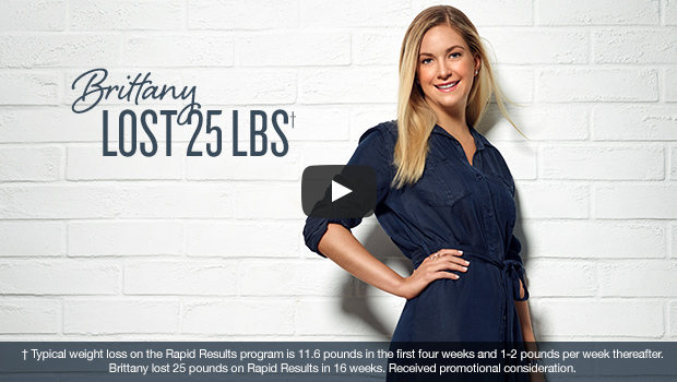 Brittany lost 25lbs
